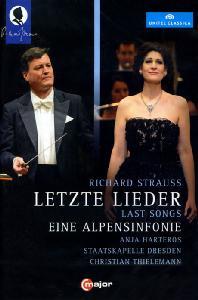 LETZTE LIEDER & EINE ALPENSINFONIE/ CHRISTIAN THIELEMANN [R. 슈트라우스: 알프스교향곡, 4개의 마지막 노래 외]