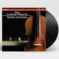 THE GREAT SONATAS FOR PIANO AND VIOLIN/ WALTER KLIEN, ARTHUR GRUMIAUX [ANALOGPHONIC 180G LP] [모차르트: 바이올린 소나타 전집 박스세트]