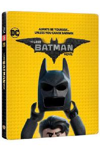 레고 배트맨 무비 3D+2D [스틸북 한정판] [THE LEGO BATMAN MOVIE]