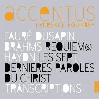 REQUIEM/ SANDRINE PIAU, LAURENCE EQUILBEY [악상투스: 포레, 편곡집, 브람스 - 20주년 기념반]