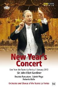 NEW YEAR`S CONCERT 2013: LIVE FROM THE TEATRO LA FENICE 2013 [2013년 베네치아 라 페니체 신년음악회]