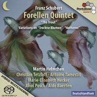 "FORELLEN QUINTET ""THE TROUT""/ MARTIN HELMCHEN [SACD HYBRID] [슈베르트: 피아오 오중주(송어), 시든꽃 주제에 의한 변주곡 - 헬름첸, 테플라프]"