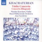 Violin Concerto/ Nicolas Koeckert, Jose Serebrier