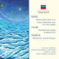 RAVEL, FAURE, FRANCK - PIANO CONCERTOS/ LAWRENCE FOSTER, RAFAEL FRUHBECK DE BURGOS [알리시아 데 라로차: 프랑스 작곡가들의 피아노 협주곡집]
