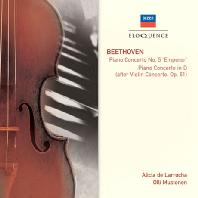 PIANO CONCERTO NO.5 'EMPEROR'/ ALICIA DE LARROCHA, OLLI MUSTONEN [알리시아 데 라로차: 베토벤 피아노 협주곡 5번 <황제>]