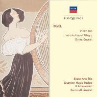 PIANO TRIO, INTRODUCTION ET ALLEGRO, STRING QUARTET/ BEAUX ARTS TRIO, CARMIRELLI QUARTET [라벨: 피아노 트리오, 서주와 알레그로, 현악사중주]