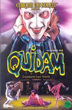 태양의 서커스: 퀴이담 [CIRQUE DU SOLEIL: QUIDAM] [10년 4월 소니 FIFA 남아공 프로모션] DVD