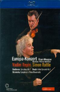 EUROPA KONZERT FROM MOSCOW/ VADIM REPIN, SIMON RATTLE [2008년 유로파 콘체르트]