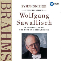 SYMPHONY NO.1/ WOLFGANG SAWALLISCH [UHQ] [브람스: 교향곡 1번 - 자발리쉬]