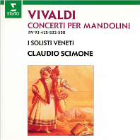 CONCERTI PER MANDOLINI/ CLAUDIO SCIMONE [UHQ] [비발디: 만돌린 협주곡 - 시모네]