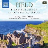PIANO CONCERTOS, NOCTURNES, SONATAS/ BENJAMIN FRITH, DAVID HASLAM [존 필드: 피아노 협주곡, 녹턴, 소나타 전집]