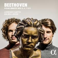 VIOLIN SONATAS NOS.3, 6, 7 & 8/ JULIEN LIBEER, LORENZO GATTO [베토벤: 바이올린 소나타 - 로렌초 가토, 줄리앙 리베어]