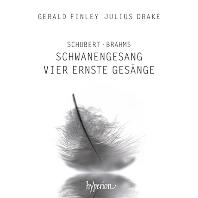 SCHWANENGESANG & VIER ERNSTE GESANGE/ GERALD FINLEY, JULIUS DRAKE [슈베르트: 백조의 노래 & 브람스: 4개의 엄숙한 노래 - 제랄드 핀리]