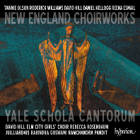 NEW ENGLAND CHOIRWORKS/ YALE SCHOLA CANTORUM, DAVID HILL [뉴 잉글랜드의 합창 작품집 - 데이비드 힐]