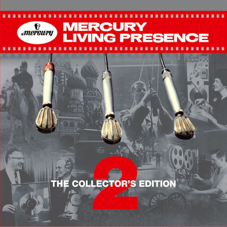 MERCURY LIVING PRESENCE: THE COLLECTOR`S EDITION 2 [180G LP] [머큐리 리빙 프레즌스 2 한정반]
