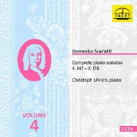 COMPLETE PIANO SONATAS VOL.4/ CHRISTOPH ULLRICH [스카를라티: 건반 소나타 4집 - 크리스토프 울리히]