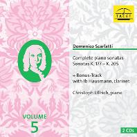 COMPLETE PIANO SONATAS VOL.5/ CHRISTOPH ULLRICH [스카를라티: 건반 소나타 5집 - 크리스토프 울리히]