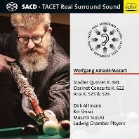 STADLER QUINTET 581 & CONCERTO/ DIRK ALTMANN [SACD HYBRID] [모차르트: 클라리넷 5중주, 협주곡(클라리넷 편곡) - 디르크 알트만]