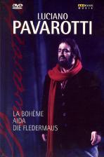 루치아노 파바로티 박스 세트: 라보엠+아이다+박쥐 [LUCIANO <!HS>PAVAROTTI<!HE>: LA BOHEME+AIDA+DIE FLEDERMAUS]