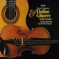 VIOLIN & GUITAR/ GYORGY TEREBESI, SONJA PRUNNBAUER [파가니니: 바이올린과 기타를 위한 작품집 - 테레베시 & 프룬바우어]
