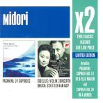 X2 TWO CLASSIC ALBUMS ONE LOW PRICE [PAGANINI 24 CAPRICES+SIBELIUS VIOLIN CONCERTO]