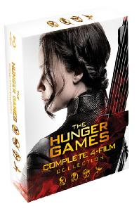 헝거게임 박스세트 [THE HUGER GAMES: COMPLETE 4 FILM COLLECTION]