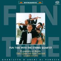 FUN TIME WITH THE STRING QUARTET/ QUARTETTO D`ARCHI DI VENEZIA [SACD HYBRID] [현악사중주와 함께 하는 즐거운 순간: 베네치아 현악 사중주단]