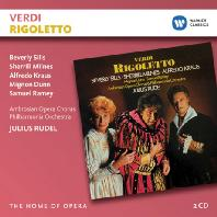 RIGOLETTO/ JULIUS RUDEL [THE HOME OF OPERA] [베르디: 리골레토]
