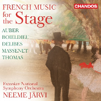 FRENCH MUSIC FOR THE STAGE/ NEEME JARVI [프랑스 무대 음악: 토마, 오베르, 보옐듀 외 - 네메 야르비]
