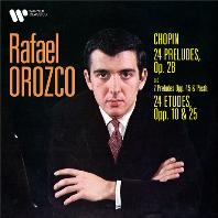 24 PRELUDES OP.28, 24 ETUDES OP.10 & 25/ RAFAEL OROZCO [ORIGINAL JACKET]] [쇼팽: 24 전주곡, 연습곡 - 라파엘 오로즈코]