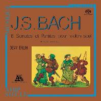6 SONATAS & PARTITAS FOR SOLO VIOLIN/ DEVY ERLIH [SACD] [바흐: 무반주 바이올린을 위한 소나타와 파르티타 - 드비 에를리히]