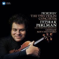 PROKOFIEV: THE TWO VIOLIN CONCERTOS/ GENNADY ROZHDESTVENSKY [펄만 29집 - 프로코피에프: 바이올린 협주곡]