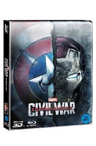 캡틴 아메리카: 시빌 워 3D+2D [스틸북 한정판] [CAPTAIN AMERICA: CIVIL WAR]