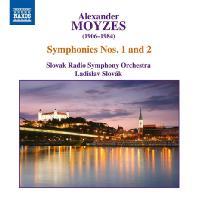 SYMPHONIES NOS.1 & 2/ LADISLAV SLOVAK [모이제스: 교향곡 1, 2번]