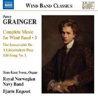 COMPLETE MUSIC FOR WIND BAND 3/ ROYAL NORWEGIAN NAVY BAND, BJARTE ENGESET [그레인저: 관악기를 위한 작품 3집 - 왕립 노르웨이 해군 관악대]