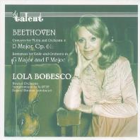 CONCERTO FOR VIOLIN AND ORCHESTRA/ LOLA BOBESCO [롤라 보베스코: 베토벤 바이올린 협주곡]