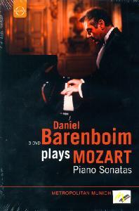 PIANO SONATAS/ <!HS>DANIEL<!HE> BARENBOIM
