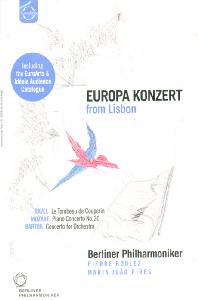 EUROPA KONZERT FROM LISBON/ MARIA JOAO PIRES, <!HS>PIERRE<!HE> BOULEZ [2003년 유로파 콘서트 - 베를린 필, 피에르 불레즈]