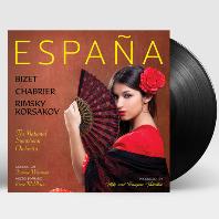 ESPANA: A TRIBUTE TO SPAIN/ ROSIE MIDDLETON, DEBBIE WISEMAN [비제, 샤브리에, 림스키 코르사코프: 스페인 헌정 앨범] [180G D2D LP]
