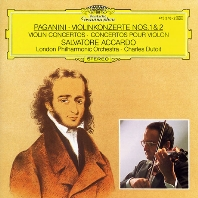 VIOLIN CONCERTOS NOS.1 & 2/ SALVATORE ACCARDO, CHARLES DUTOIT [파가니니: 바이올린 협주곡 - 아카르도, 뒤투아]