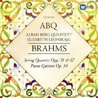 STRING QUARTETS OP.51, 67 & PIANO QUINTET OP.34/ ALBAN BERG QUARTETT [ORIGINAL JACKET] [브람스: 현악사중주 & 피아노 오중주]