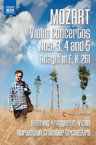 VIOLIN CONCERTOS NOS.3, 4 & 5/ HENNING KRAGGERUD [모차르트: 바이올린 협주곡 3, 4, 5번]