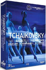 THE 3 BALLETS AT THE BOLSHOI: SWAN LAKE, SLEEPING BEAUTY, NUTCRACKER [볼쇼이의 차이코프스키 3대 발레]