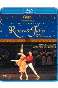ROMEO & JULIET/ RUDOLF NUREYEV, PARIS OPERA BALLET [프로코피에프: 로미오 & 줄리엣]