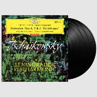 SYMPHONIES NOS.4, 5 & 6 'PATHETIQUE'/ EVGENY MRAVINSKY [ANALOGPHONIC 180G LP] [차이코프스키: 교향곡집 - 므라빈스키]