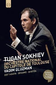 VIOLIN CONCERTO, SYMPHONY NO.1, THE WOODEN PRINCE/ VADIM GLUZMAN, TUGAN SOKHIEV [베토벤: 바이올린 협주곡, 브람스: 교향곡 1번, 바르톡: 허수아비 왕자 - 투간 소키에프]