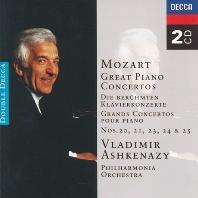 PIANO CONCERTOS 20.21.23.24.25/ VLADIMIR ASHKENAZY