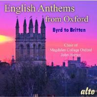 ENGLISH ANTHEMS FROM OXFORD/ JOHN HARPER [옥스퍼드 맥덜린 대학 합창단: 영국의 종교음악]