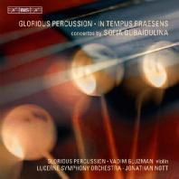 CONCERTO FOR VIOLIN AND ORCHESTRA/ GLORIOUS PERCUSSION, JONATHAN NOTT