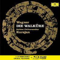 DIE WALKURE/ HERBERT VON KARAJAN [4CD+BDA] [바그너: 발퀴레 - 카라얀]
